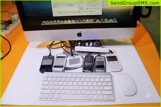 Mac Bulk SMS Software for Multi GSM mobile6
